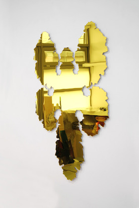Paul Hosking, Rorschach (YELLOW), 2016