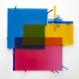 Laurent Perbos, Glass Painting - Composition 1, 2021