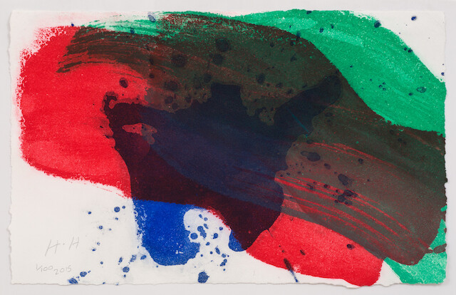 Howard Hodgkin, For Antony, 2015