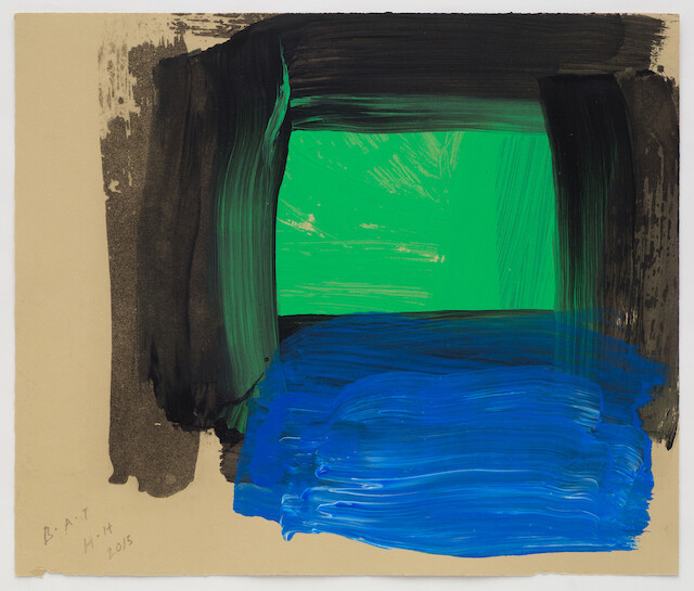 Howard Hodgkin, Springtime From After All, 2015